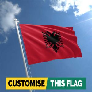 Custom Albania flag