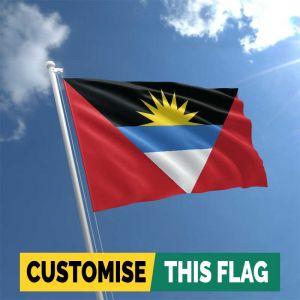 Custom Antigua & Barbuda flag