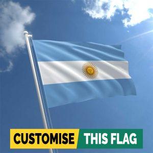 Custom Argentina flag