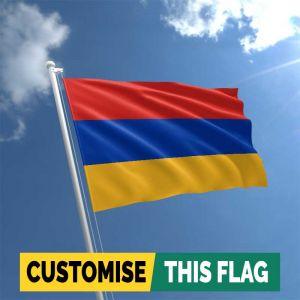 Custom Armenia flag