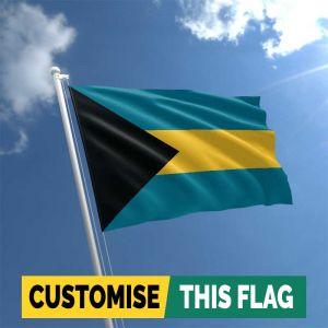 Custom Bahamas flag
