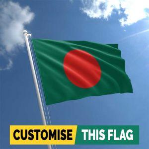 Custom Bangladesh flag