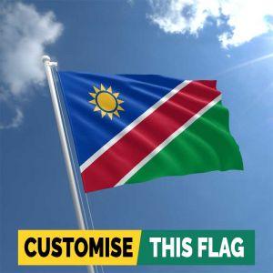 Custom Namibia flag