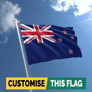 Custom New Zealand flag