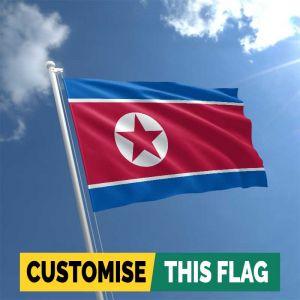 Custom North Korea flag
