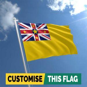 Custom Niue flag