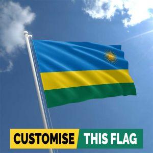 Custom Rwanda flag