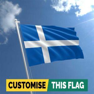 Custom Shetland Islands flag