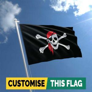 Skull Bandana Pirate flag