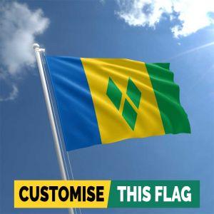 Saint Vincent & the Grenadines Flag